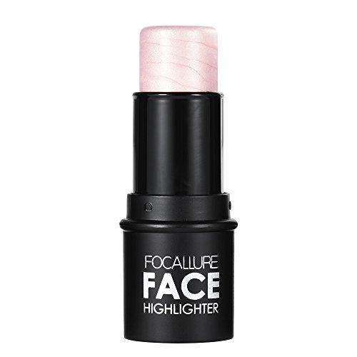 Anself Foca Llure 1pc el Lápiz de Maquillaje de Stick Mujer Concealer Polvo Contornos Palé Maquillaje Herramienta de Plata