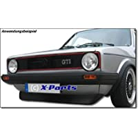 Spoiler Lip Golf 1 GTI 74-83 Wide Rim Black