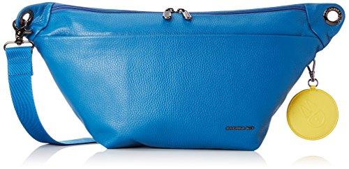 Mandarina Duck - Mellow Leather Tracolla, Borsa a tracolla Donna Blu (Midnight)