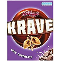 Kellogg s Krave Chocolate de Leche (375g)
