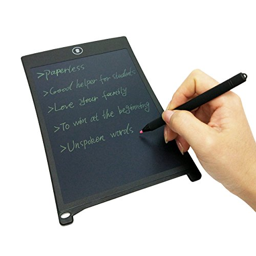 Signstek LCD tragbar digital Writing Tablet Handschrift Tafel Schreibtafel mit Stylus Stifte (8.5 Zoll)