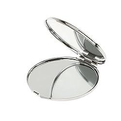 Imported Round Travel Folding Pocket Handbag Compact Cosmetic Makeup Mirror S...-54002012MG