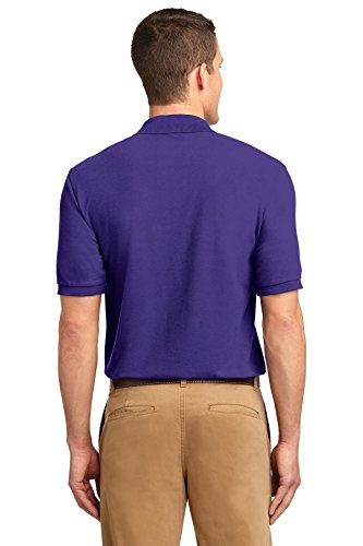 NEW Port Behörde Silk-Touch Sport T-Shirt Harvest Gold, M Violett - Violett