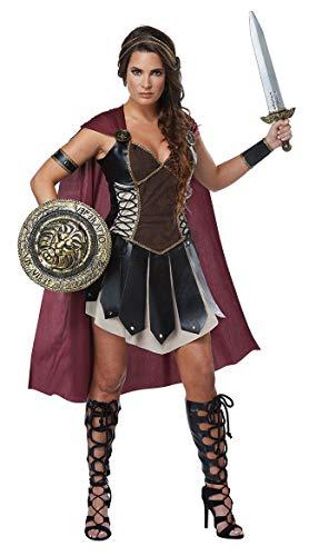 stüm Mädchen, Halloween Gladiator uniform, spartanisch mythische Krieger kostüm, antike griechische göttin kostüm, Halloween Party kostüm,XL ()