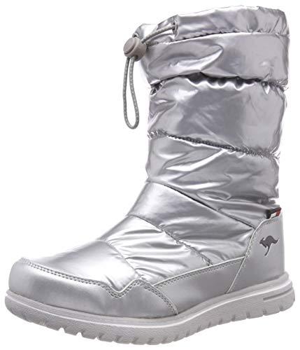 KangaROOS Damen K-Wowi Coll RTX Schlupfstiefel, Mehrfarbig (Silver), 39 EU -