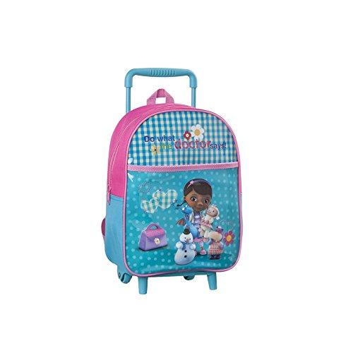 Dottoressa peluche bambini trolley zaino - 30 x 25 cm - scuola e asilo