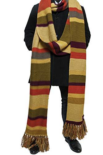 (Doctor Who Schal - 5,5 m lang - Schal des Vierten Doktors der 16. und 17. Staffel BBC - von LOVARZI)