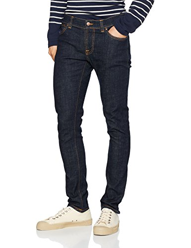 NUDIE JEANS Herren Jeans Slim Tight Terry, Blu (Rinse Twill), W32/L32 (Tight Leg Jeans)