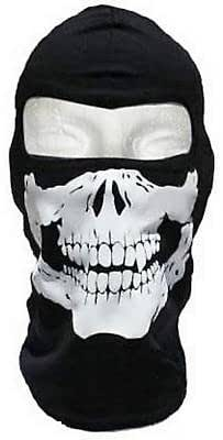 Cagoule Ghost - Tete de mort - Style Call of Duty Modern Warfare Cod Mw3 Black Ops Battlefield Xbox 360 - Ps3 - Airsoft - Paintball - Moto - Ski - Snow - Surf - Outdoor