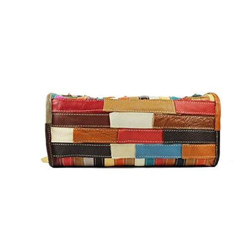 Eysee, Poschette giorno donna Multicolore Multicolore 29cm*23cm*14cm Multicolore