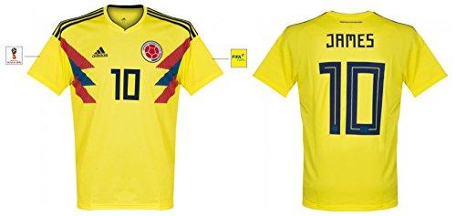 Trikot Herren Kolumbien WM 2018 Home - James 10 - Kolumbien Adidas Fußball