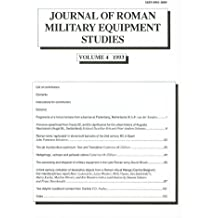 Journal of Roman Military Equipment Studies, Volume 4 1993: Vol 4 (JRMES)