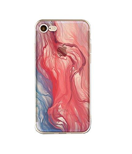iPhone 7 Hülle,EinsAcc Neu Silikon Weich Hülle Case Backcover für iPhone 7/7Plus (für iPhone 7 5,5 Zoll, 01) 03