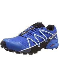 Salomon Herren Speedcross 4 GTX, Trailrunning-Schuhe, Wasserdicht, blau (sky diver/indigo bunting/black) Größe 45 1/3