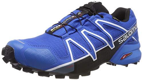 Salomon Herren Speedcross 4 GTX, Trailrunning-Schuhe, Wasserdicht, blau (sky diver/indigo bunting/black) Größe 40