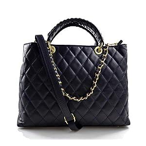 Damen schultertasche dunkelblau leder damen handtasche damen henkeltasche leder damentasche leder schultertasche leder henkeltasche