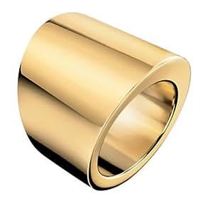 Calvin Klein Stylish KJ74BR020108 PVD doré Bague pour femme Taille 58