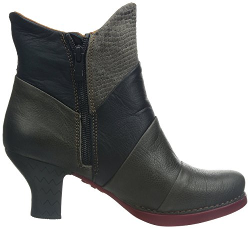 Art brunito Stiefel Harlem Kurzschaft Grau Damen nq1g7nB
