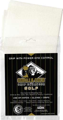 Longridge Gorilla Enhancer Gold Golf Griff ,Weiß -
