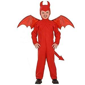 WIDMANN-Diavolo 41929 - Disfraz infantil unisex, multicolor, (110 cm/3 - 4 años)