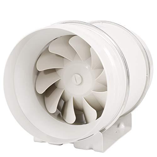 Abluftventilator Badlüfter Rohrventilator 200mm Küchenbelüftung Leistungsstarker Leiser 8-Zoll-Rauch Starker Sauger Haltbarer Einsatz Einfach Zu Zerlegen