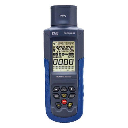 Rilevatore radiazioni PCE-RAM 10