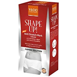 VLCC Shape Up Anti Stretch Mark Cream 200 gm With Free Organic Harvest Trial Pack 10 ml