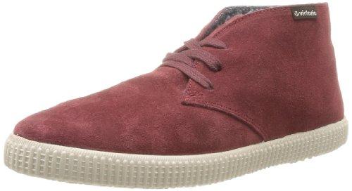 Victoria 106788, Unisex Adulto Desert Boots Rosso (bordeaux)