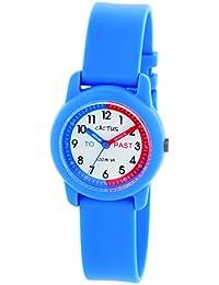 Cactus CAC-69-M03 - Reloj de pulsera niños, Plástico, color Azul