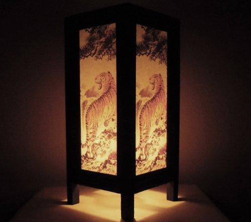rare-asie-thai-lampe-de-tables-bouddha-style-chevet-tigre-par-thailande