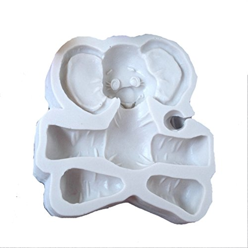 ier Fondant Schokolade Schimmel Kuchen Dekor Icing Sugarcraft Schimmel (Elefant) ()