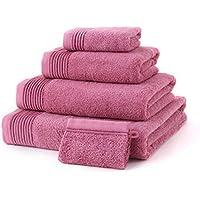 Lxryxx Hombres y Mujeres Toalla de baño Engrosamiento para Aumentar el Agua Toalla de algodón Suave