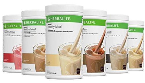 Herbalife Austria, 3 x Formula 1 Shake (Vanille, Erdbeere, Schoko) + Shaker + Portionslöffel