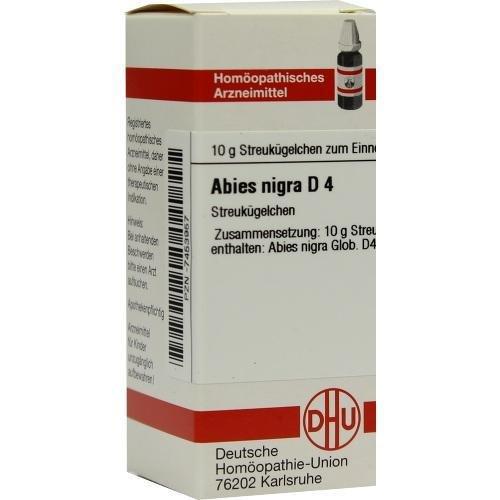 DHU Abies nigra D4, 10 g Globuli