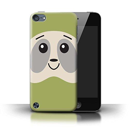 Stuff4® Hülle/Case für Apple iPod Touch 5 / Grün Muster/Niedliche Grembly-Gunk Faultier Kollektion 1g Ipod Touch