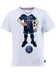 T-shirt cartoon PSG - Collection officielle Paris Saint Germain - Taille enfant garçon