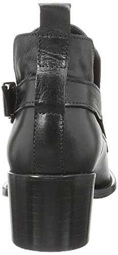 BIANCO Open Buckle Boot Jfm17, Stivaletti Donna nero (nero)