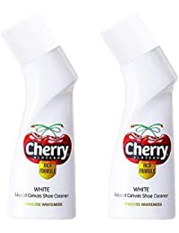 Cherry Blossom Liquid Shoe Polish White - 75 ml (Pack of 2)