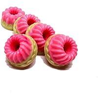 Duftmelt Strawberry Lemon Sorbet | 5er Set - Duftwachs | Duftkerzen