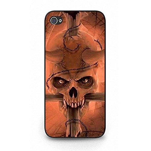 Premium iPhone 5/5s/SE Phone Case Skull Head Print Cove Shell for iPhone 5/5s/SE