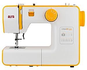 Alfa COMPAKT100 - Máquina de coser, color naranja de Alfa Hogar