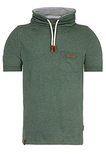 Naketano Male T-Shirt Fat Tony Pine Green Melange, M (Pine Green Bekleidung)