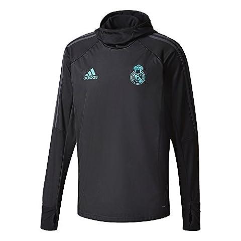 Adidas Real Madrid Warm, Sweat pour homme M Nero (Nero/Gripur)