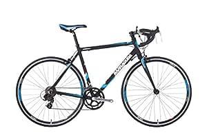 """BarracudaCorvusMens' Road Bike Black/Blue, 22"""" inch alloy"""