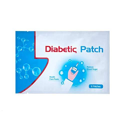 Forart 6Pcs/1bag Diabetes-Pads, halten Blutzucker-Gleichgewicht, Pure Natural Herbal Diabetes Pflaster Health Care