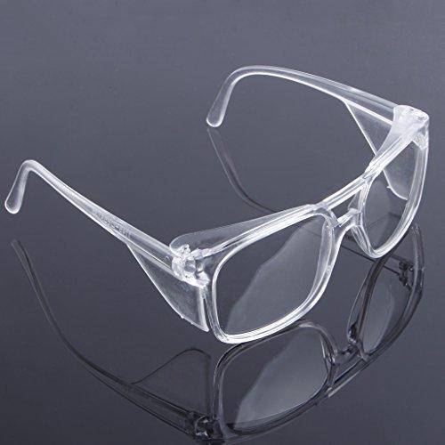 jiamins Clara de Seguridad Laboral de Laboratorio de Protección Gafas Eyewear de Cristal de Ojos Protectora Anti Niebla Juegos Vitrina