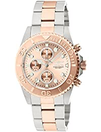 Invicta Pro Diver Unisex Chronograph Quartz Watch with Stainless Steel Bracelet – 1775