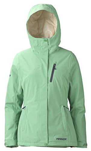 Marker Damen Momentjacke, Damen, grün - Spring Green, X-Large (Marker Ski-jacke)
