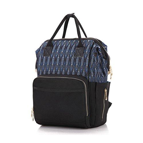 4054d2d8a Duang Bebé pañales para pañales bolso cambiador, multifuncional mochila con  correas para el carrito impermeable