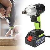 Avvitatore ad impulsi con LED, Avvitatore a impulsi senza cordone 36V, batteria ricaricabile agli ioni di litio, Luce di lavoro a LED, Borsa Degli Attrezzi(1)